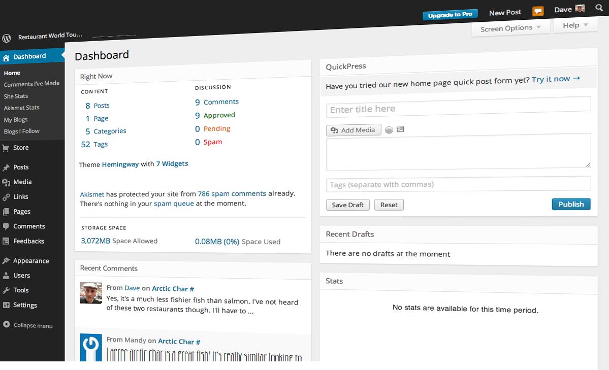 ODAHOSTING WordPress Hosting Hizmeti